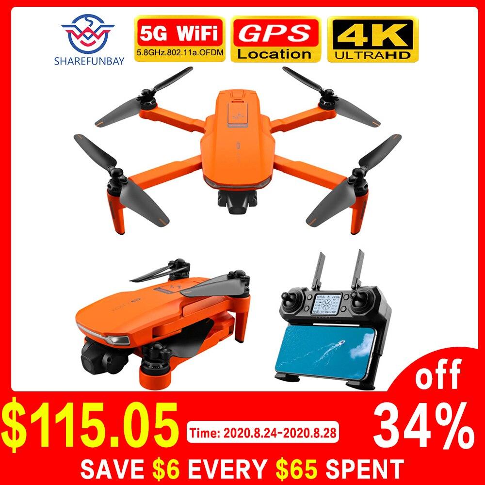 2020 nuevo Dron 4k gps 5g wifi cámara de dos ejes cardán motor sin escobillas soporta tarjeta TF vuelo durante 25 minutos ICAT7 vs sg906 pro