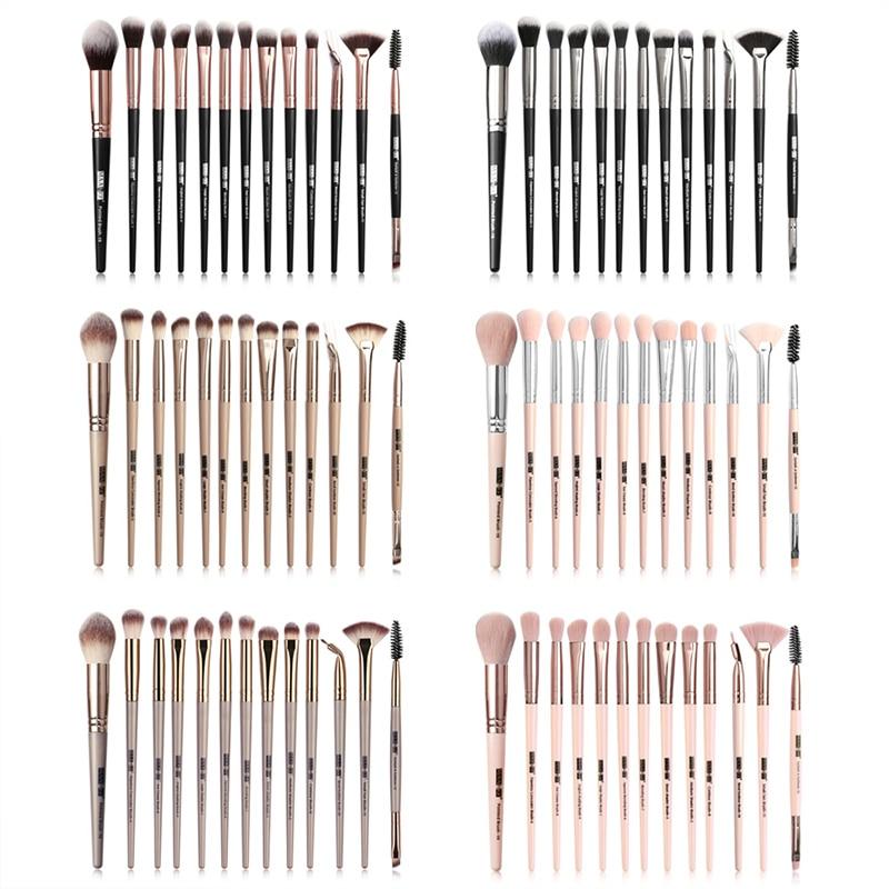 Maange 13/5 pincéis de maquiagem kit fundação pó blush ocultador sombra lábio olho compõem escova comestic ferramentas