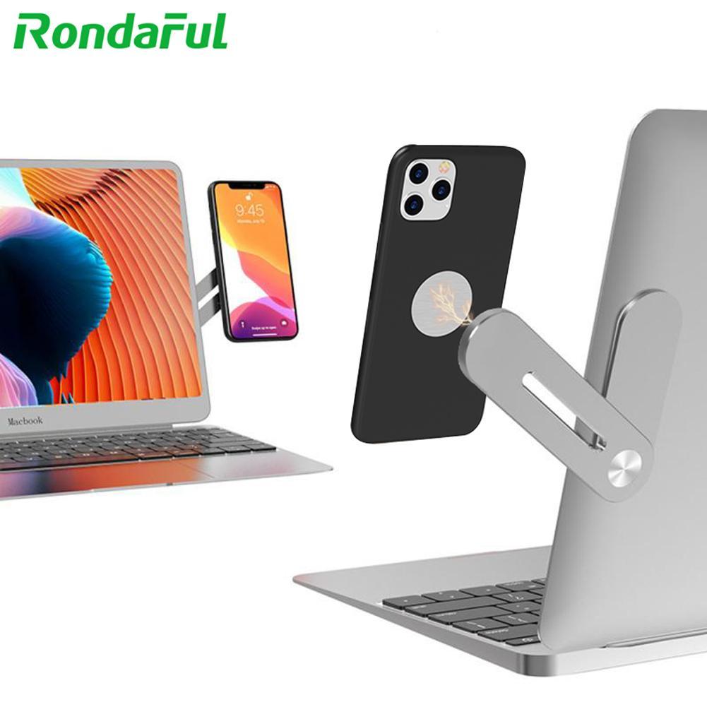 Mini Laptop Suporte Magnético Clipe de Telefone Celular para xiaomi mi 11 9 Montar Monitor de Tela Dupla para iPhone Móvel acessórios