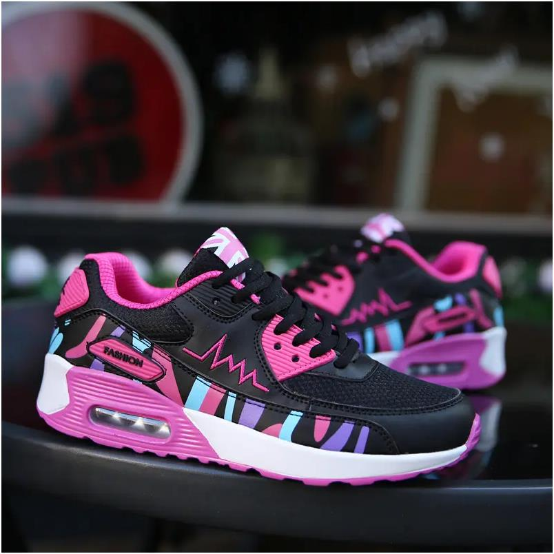 Fashion Ladies Shoes Women Casual Sneakers Air Cushion Sports Running Shoes Tennis Shoes Trainers fo