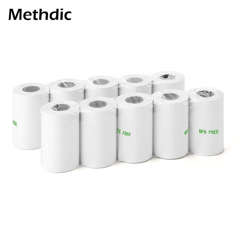 5 рулонов термобумаги, 57x30 мм, рулон бумаги для кассового аппарата, терморулон бумаги для принтера, термобумага