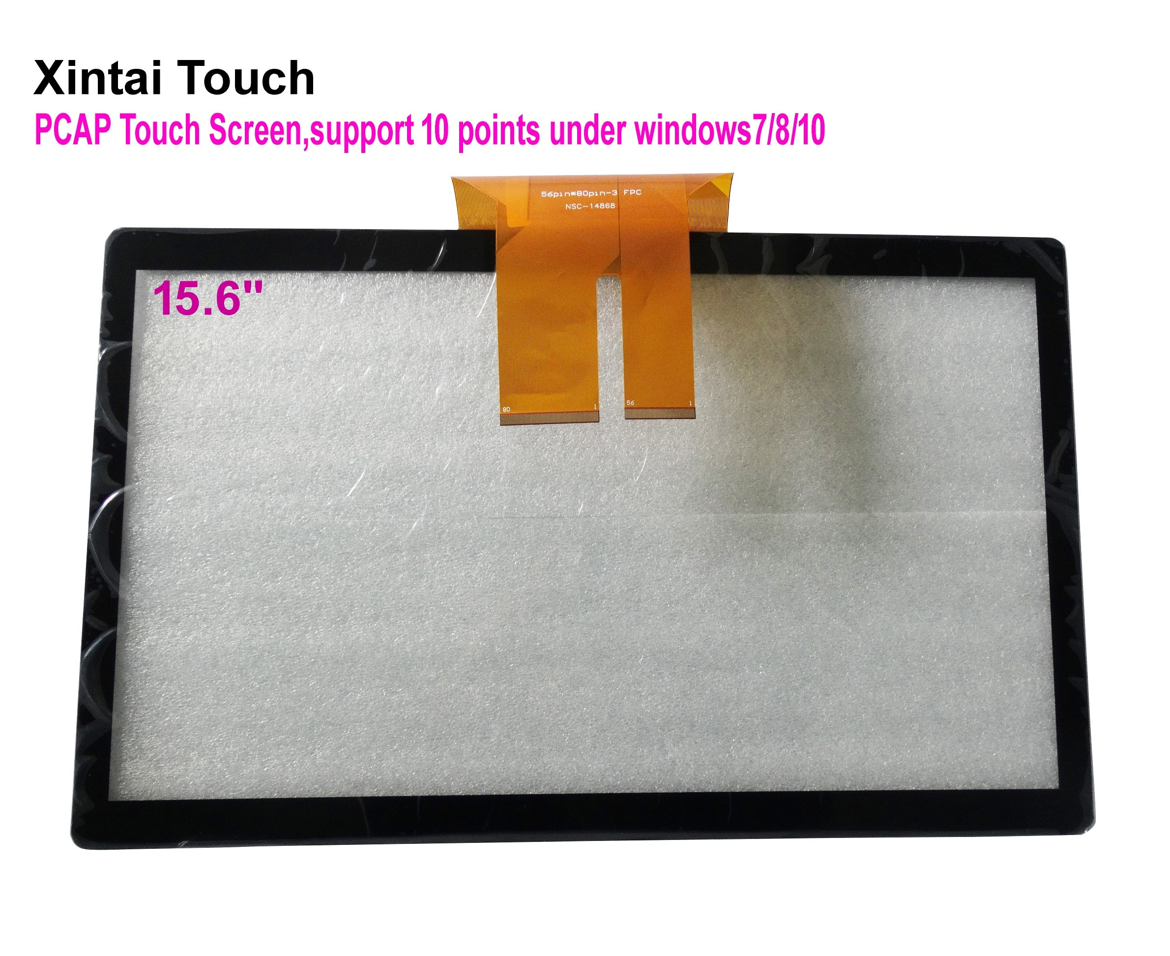 شحن مجاني! شاشة لمس متعددة بالسعة ، 15.6 بوصة ، USB ، مجموعة لوحة تراكب ، 10 نقاط