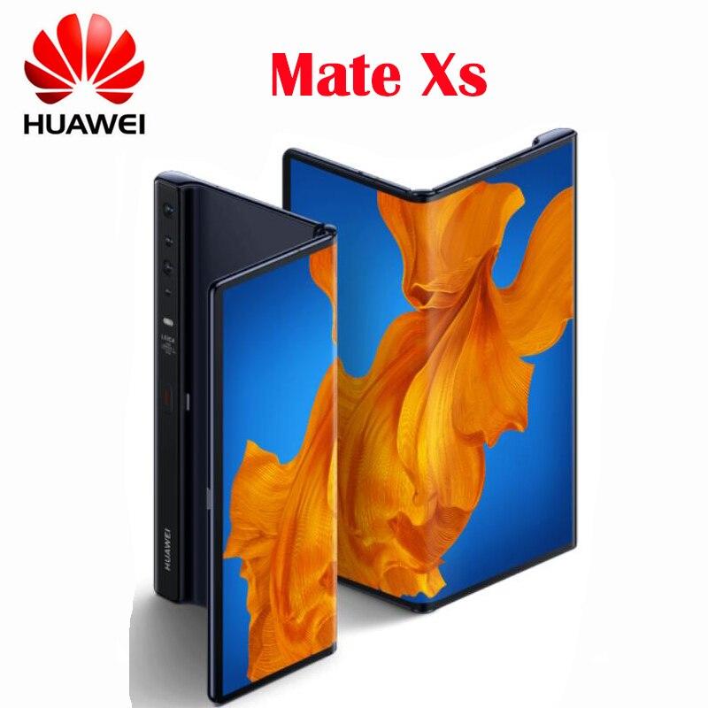 Original oficial nuevo Huawei Mate Xs 5G Smartphone 40MP Leica Quad Cámara 4500 mAh 8 pulgadas plegable Visualización completa