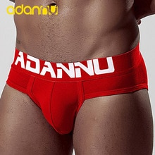 ADANNU Dropshipping Underwear New Comfortable Sports Fitness Fashion Style Cotton Solid Color Stretc