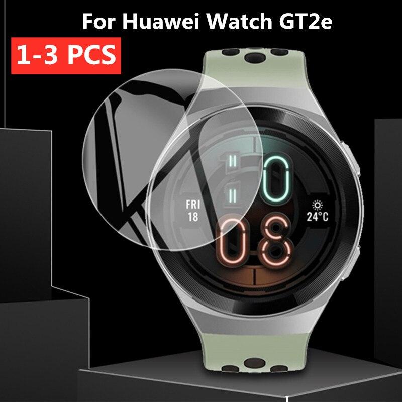 Para Huawei Watch GT2e 2.5D vidrio templado transparente 9H HD película protectora de pantalla Premium para Huawei Watch GT 2e reloj inteligente deportivo