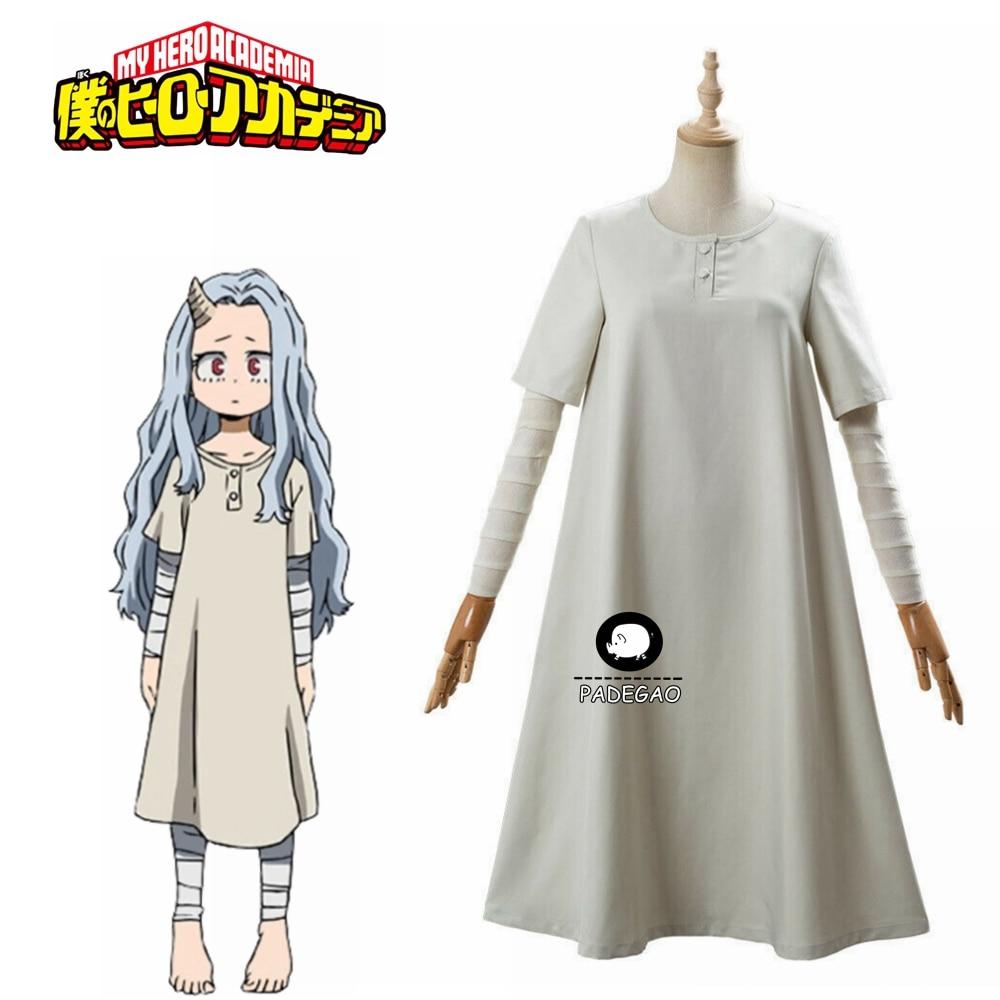 My Hero Academia Season 4 Eri Cosplay Costume One-piece Dress Bandage Dress Free shipping