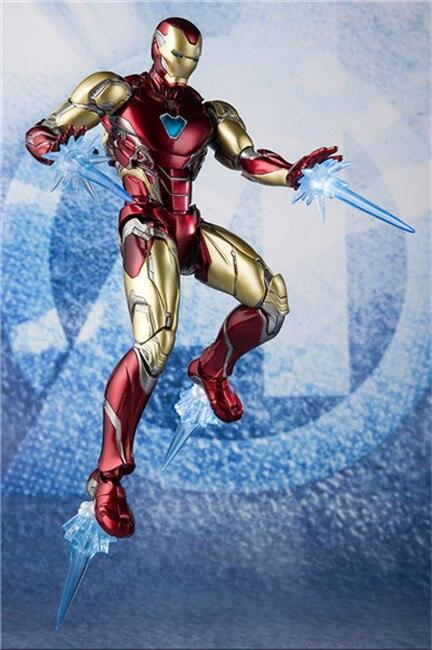 Marvel Avengers Iron Man MK85 superbohater Ironman figurki zabawki