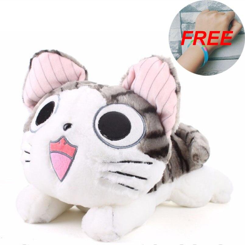 Плюшевые игрушки Чи-кошки 40 см, мягкие куклы-животные, подарок для детей, кавайные игрушки-кошки Чи 20 см, милый дом Чи, аниме игрушка для влюбл...