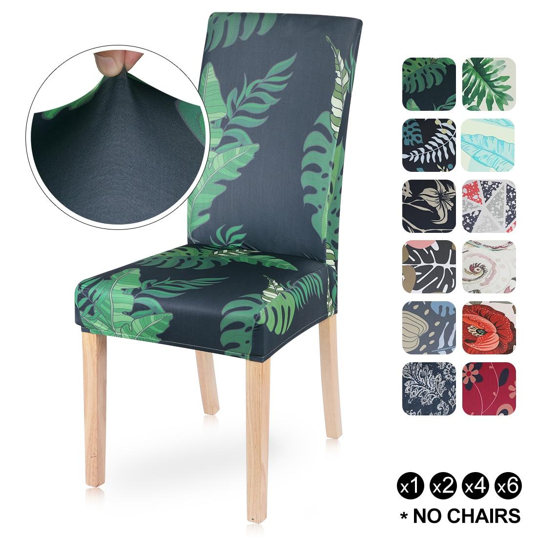 Capa protetora para cadeira de jantar, capa elástica para assento, capa para cadeira de jantar, removível, lavável, 1 peça