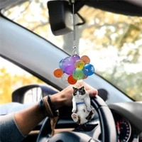 cat car hanging ornaments creative cute car pendant interior car pendant hanging ornament automobile decoration 1pc