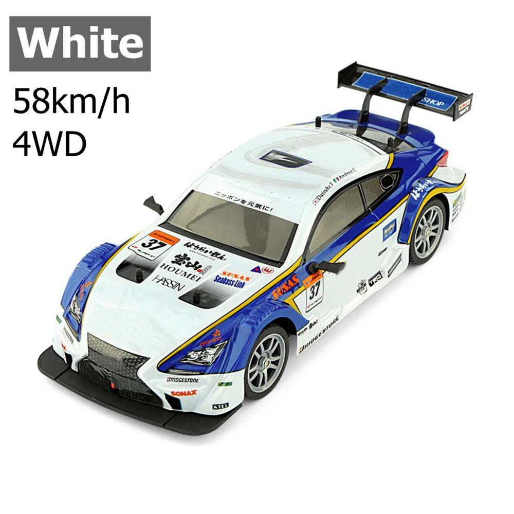 1:16 38km/h RC Drift Racing Car 4WD 2.4G High Speed GTR Remote Control Max 30m Control Distance Electronic Hobby Toys car gifts enlarge