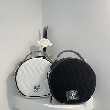 New ladies golf bag pearl logo tambourine round bag handbag storage fashion design golf bag