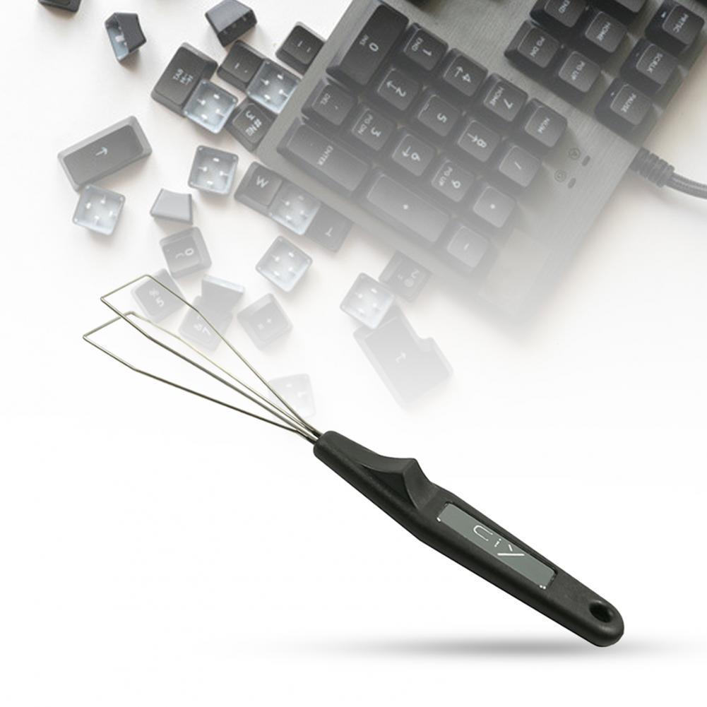 Съемник колпачков для клавиатуры, простой в эксплуатации прибор для снятия колпачков для клавиатуры, для большинства механических клавиат...