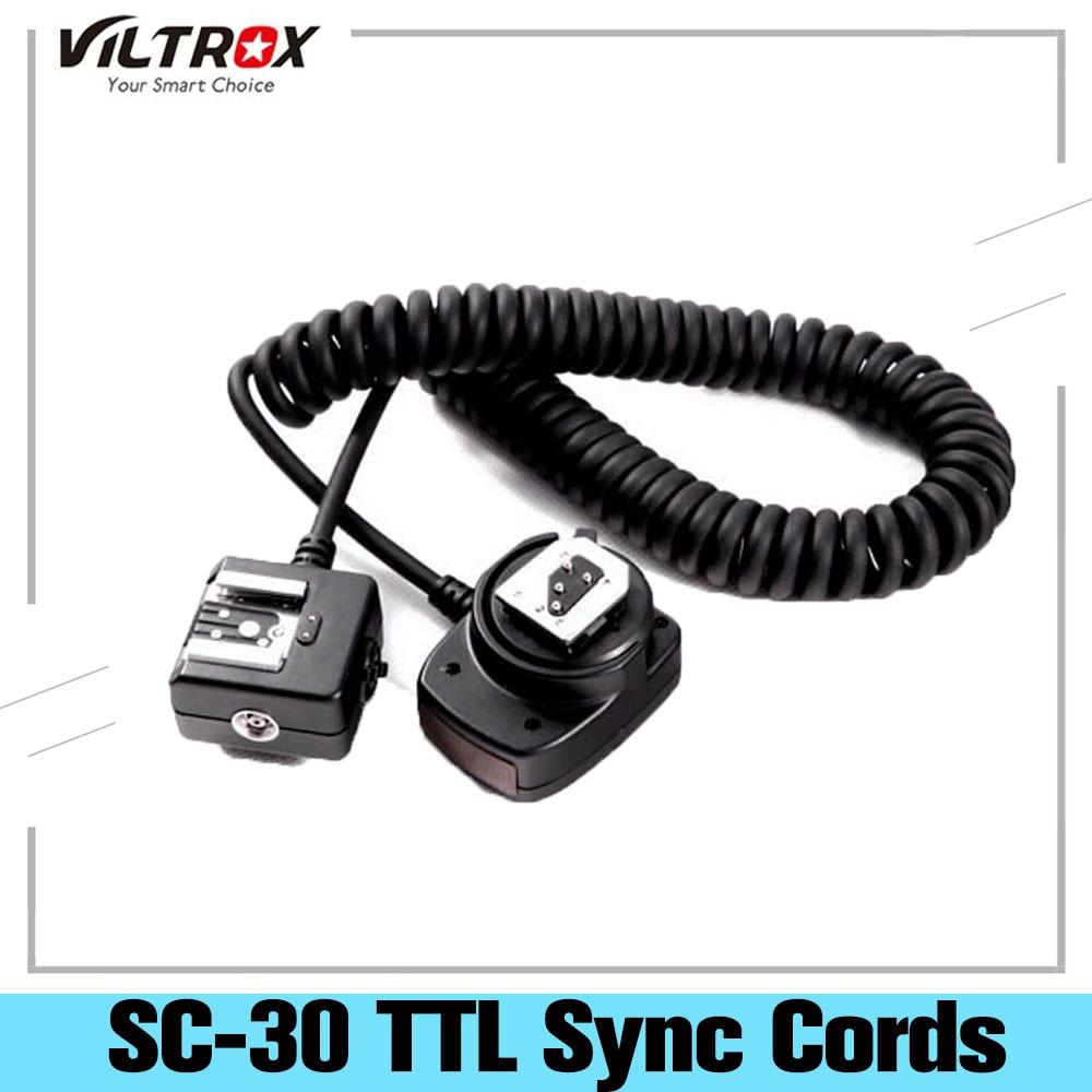 Viltrox-Cable de sincronización TTL para Flash, Cable de enfoque de luz, asistente...