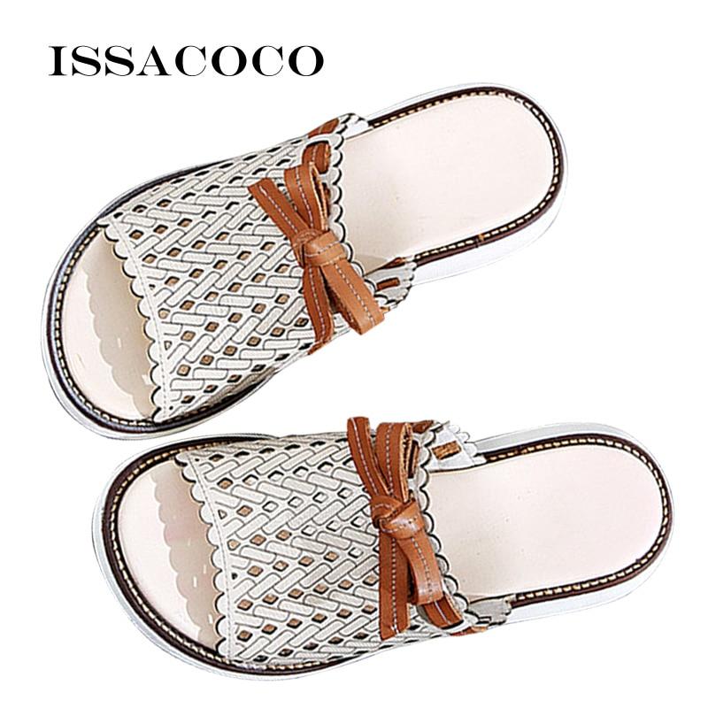 Summer Woman's Pumps Slipper Sandals Female Mules Clogs Luxury Designer Beach Shoes Slides Women Casual Spring Leather Shoes
