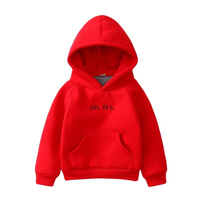 2020 Autumn Winter Long Sleeve Boy Hoodies Sweatshirt Girl Toddler Kids Clothes T-shirt Baby Letter Pattern Top  2-8 Years