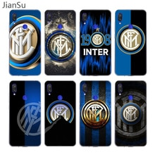 Inter club Case For Xiaomi Redmi Note 9 8 7 6 5 Pro 9S 9C 8T 9A 8A 7A 6A K30 K20 Silicone Cover Coqu