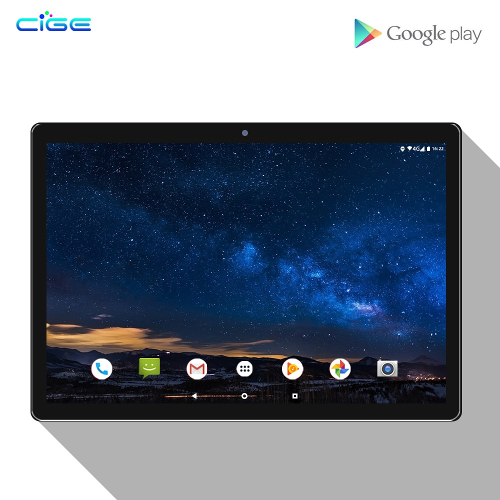 New 10 Inch Tablet PC Android 8.0 10 Core 6GB+128GB 13.0MP Camera 1920x1200 IPS Dual SIM Card WIFI GPS Tablets 4G Phone 5G WiFi