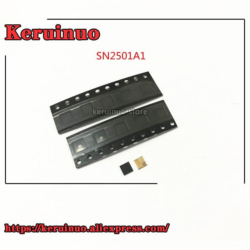 "5 unids/lote nuevo ORIGINAL SN2501A1 SN2501 U3300 63pin TIGRIS T1 cargador de carga ic chip para iphone 8 8 ""X"""