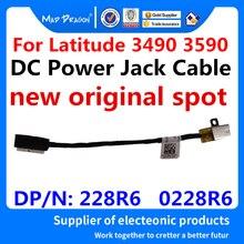 Nouveau ordinateur portable dorigine cc en DC-IN câble dalimentation cc pour Dell Latitude 3490 3590 E3490 E3590 DAL10 DAL20 228R6 0228R6 DC301011R00