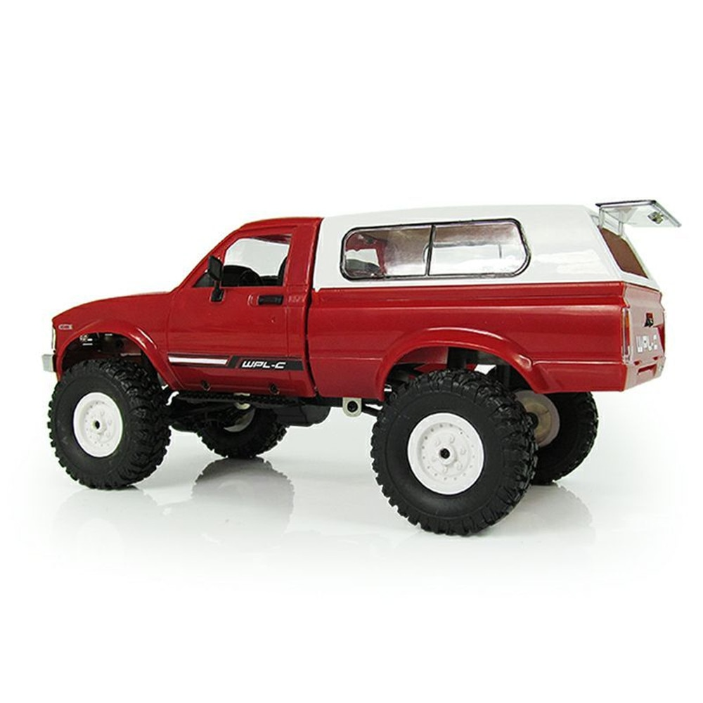 WPL C24 Remote Control Off-road Model Car RC Auto DIY High Speed Truck RTR for Boys Gifts Toy Upgrade 4WD Metal KIT Part Crawler enlarge