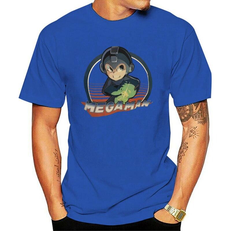 Camiseta de Mega Man para hombre, camisa clásica de Megaman $25, negra...