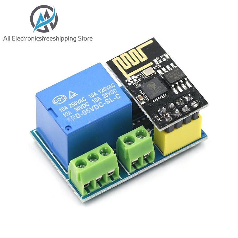 ESP8266 ESP-01/01S 5V WiFi Relay Module Things Smart Home Remote Control Switch Phone APP ESP01 ESP-