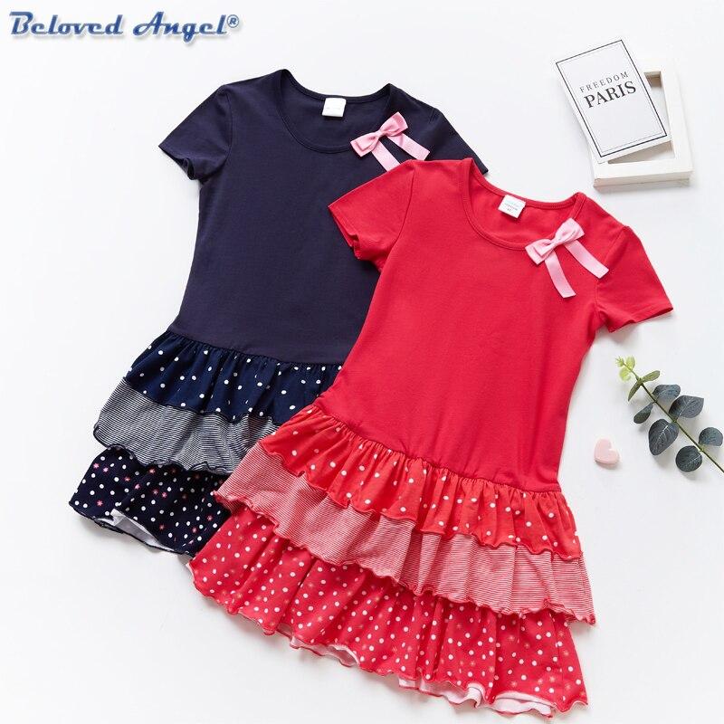 Los niños ropa de niña ropa de bebé niña, flor tutú vestido de princesa vestido de desfile Formal del partido vestido de 3-8T Casual desgaste de la escuela