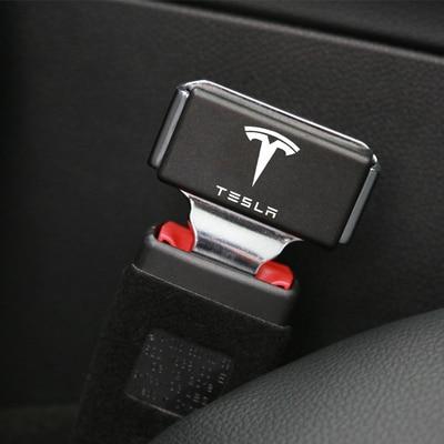 1 шт., скрытая задняя Пряжка, автомобильные аксессуары для Tesla model 3 y s x, автомобильные аксессуары