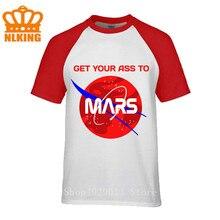 Camisetas Olympus Mons Occupy Explore Mars Adventure Space X, camiseta de hombre con rocas volcánicas del planeta, lleva tu trasero a la galaxia de Mars