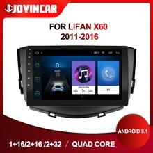 9 pouces Android 9.1 autoradio Multimidia vidéo pour Lifan X60 2011 2012-2016 2 din autoradio GPS Navigation Wifi Bluetooth