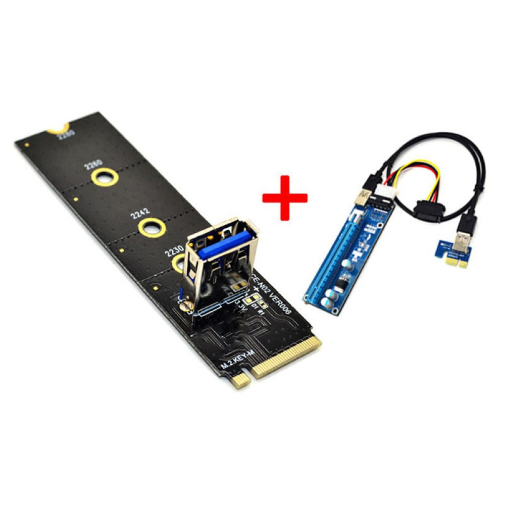 Tarjeta adaptadora de ranura M.2 a PCI-E X16, NGFF, Pcie, Riser, NVME,...
