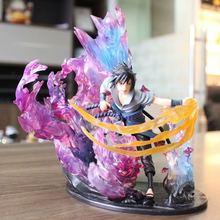 Personaje de Anime japonés PVC limitado F. ZERO Naruto Uchiha Sasuke relación figuras de acción coleccionable modelo de juguetes regalos