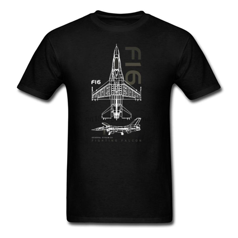 Camiseta militar de la Fuerza Aérea de alta calidad de la F-16...