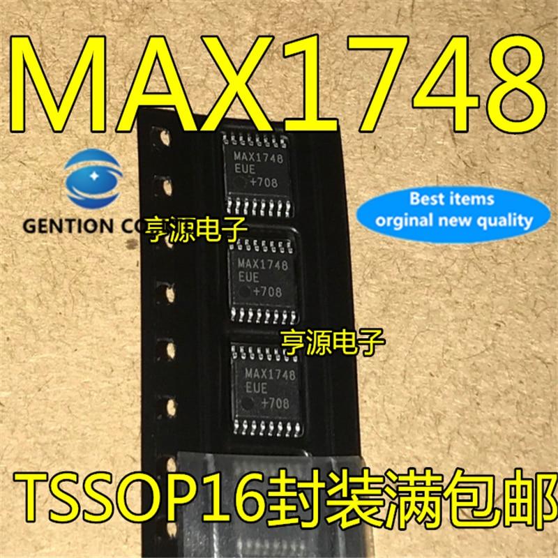 10 шт. MAX1748 MAX1748EUE TSSOP16 в наличии 100% новый и оригинальный
