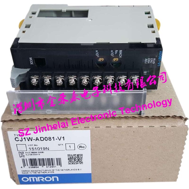 100% جديد و الأصلي CJ1W-AD081-V1 OMRON مدخلات تناظرية وحدة
