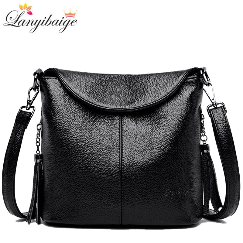 Soft Leather Crossbody Bags for Women 2020 Luxury Handbags Women Bags Designer Female Casual Hand Shoulder Bag bolsos de mujer