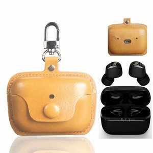 Anti-shock PU Leather Headphone Protective Cover For Edifier TWS1 Wireless Bluetooth Headset Eraphone Case