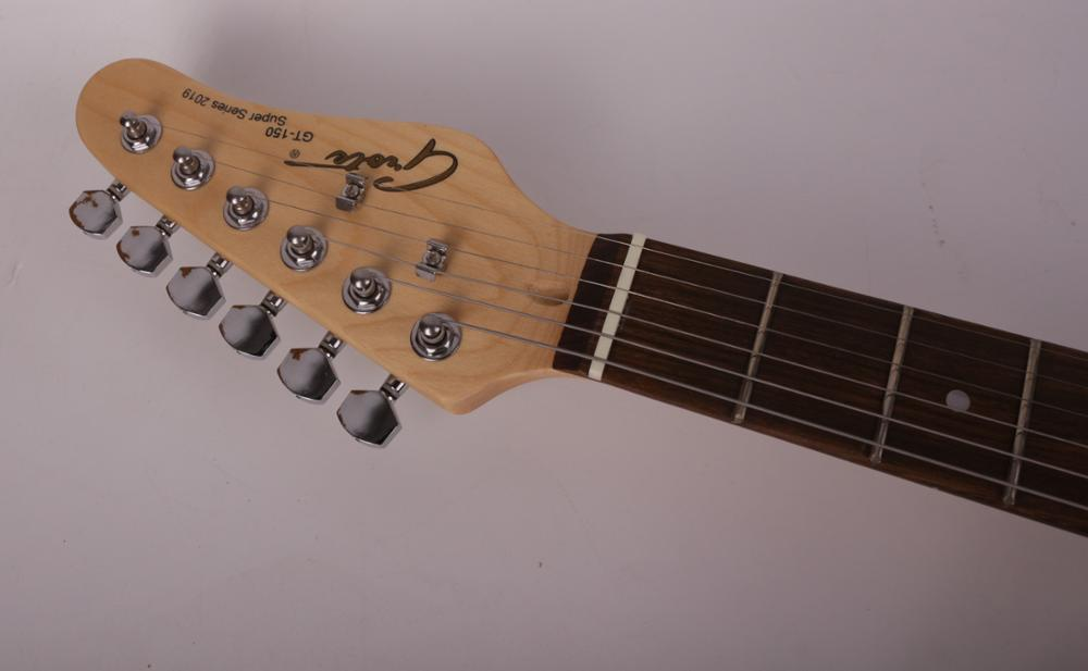 good quality electric guitar F hole free shipping enlarge