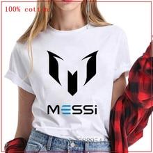 Mode 2020 été noir MESSI T-Shirt femmes barcelone MESSI T-Shirt MESSI T-Shirt couverture en coton T-Shirt adulte chemise pour fille xs-3xl