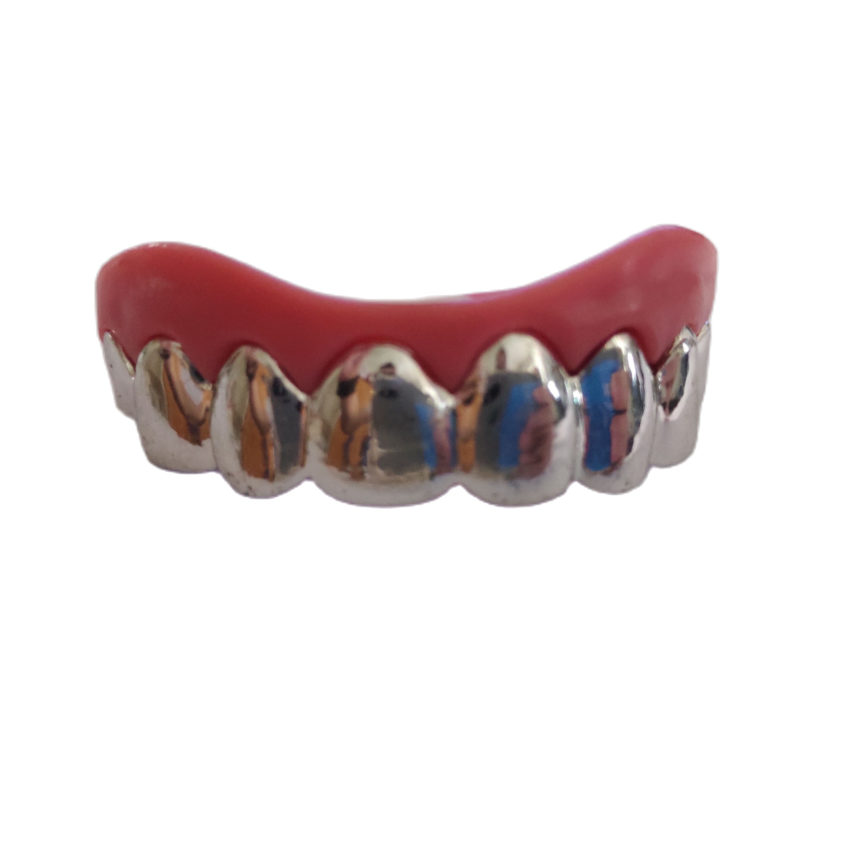 DIY Accessories Vampire Teeth Hip Hop Grillz  Fashion Body Jewelry Hip-hop Rapper Mouth Caps Custom Teeth Grills Tooth Grillz