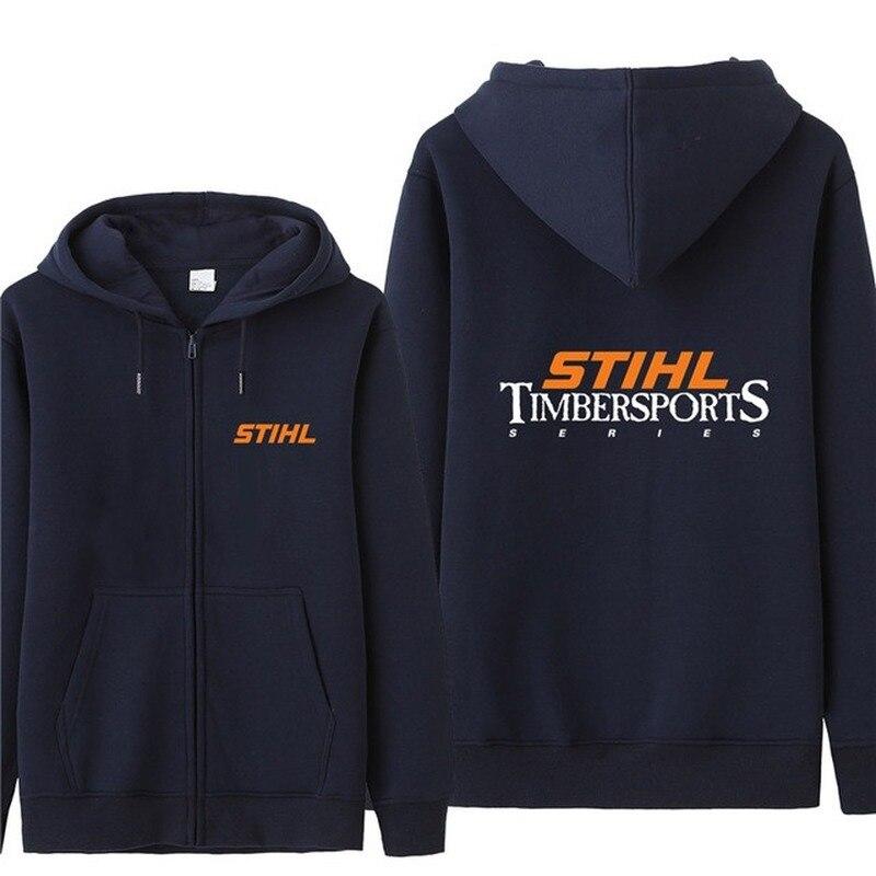 Nueva sudadera de otoño Stihl serie Timbersports, abrigo de moda para hombre, jersey de lana, sudadera Unisex para hombre
