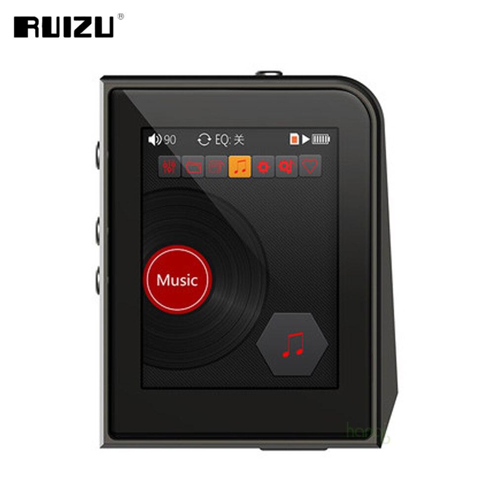 RUIZU A50 DAP HD ضياع الرياضة مشغل MP3 صغير مع شاشة 2.5 بوصة HIFI مشغل موسيقى دعم 128G TF بطاقة/DSD256 مشغل الصوت
