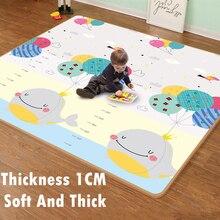 Xpe – tapis de jeu pour bébé, épais de 1cm, motif dessin animé, Puzzle, tapis descalade, tapis de jeux pour enfants