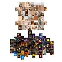 50 pieces wall collage kit aesthetic photo art bedroom decor appropriate