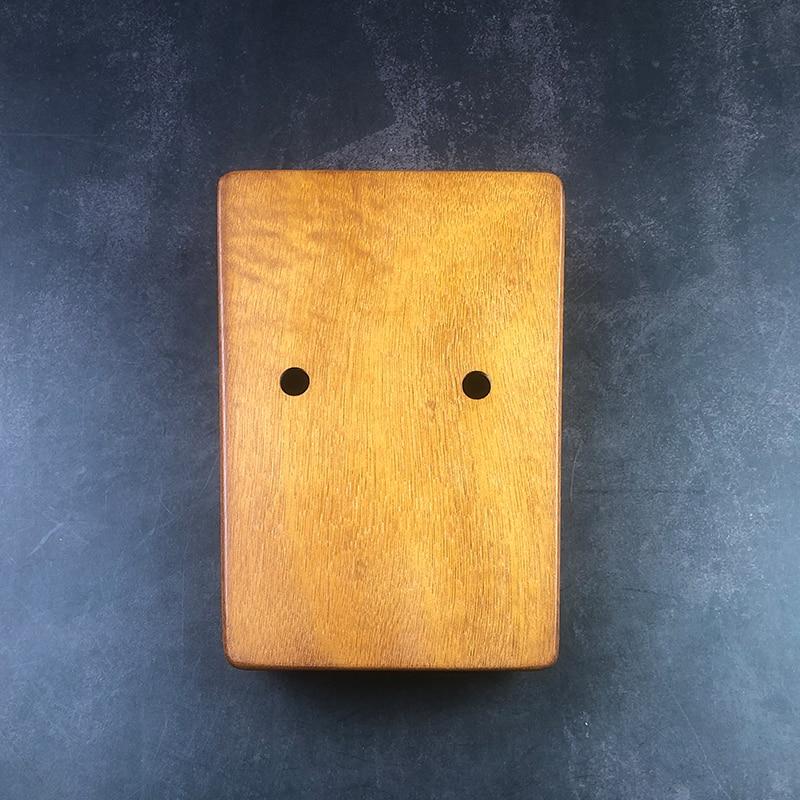 17 Keys Kalimba Thumb Piano High Quality Wood Mahogany Mbira Body Musical Instruments With Learning Book Kalimba Piano enlarge