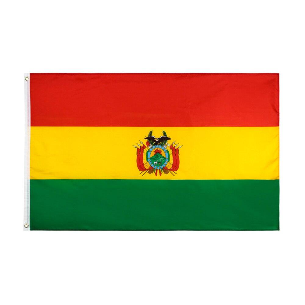 Flaglink 3x5fts 90*150cm BOL bolivien flagge von bolivianischen