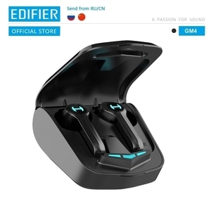 Беспроводные Игровые наушники EDIFIER GM4 Bluetooth 5,0 PixArt с низкой задержкой и сенсорным управлением с голосовым помощником шумоподавления