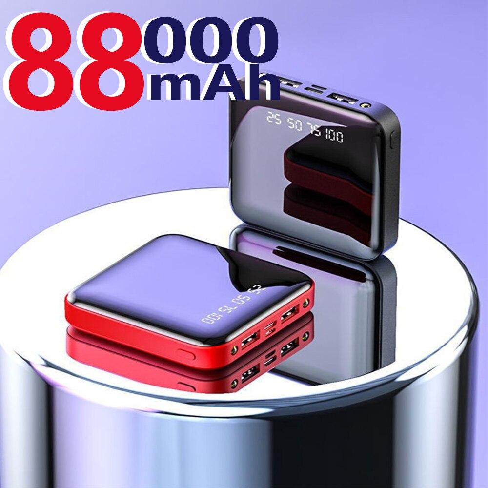 Компактное портативное зарядное устройство на 88000 мА портативное зарядное устройство светодиодное портативное зарядное устройство подход...