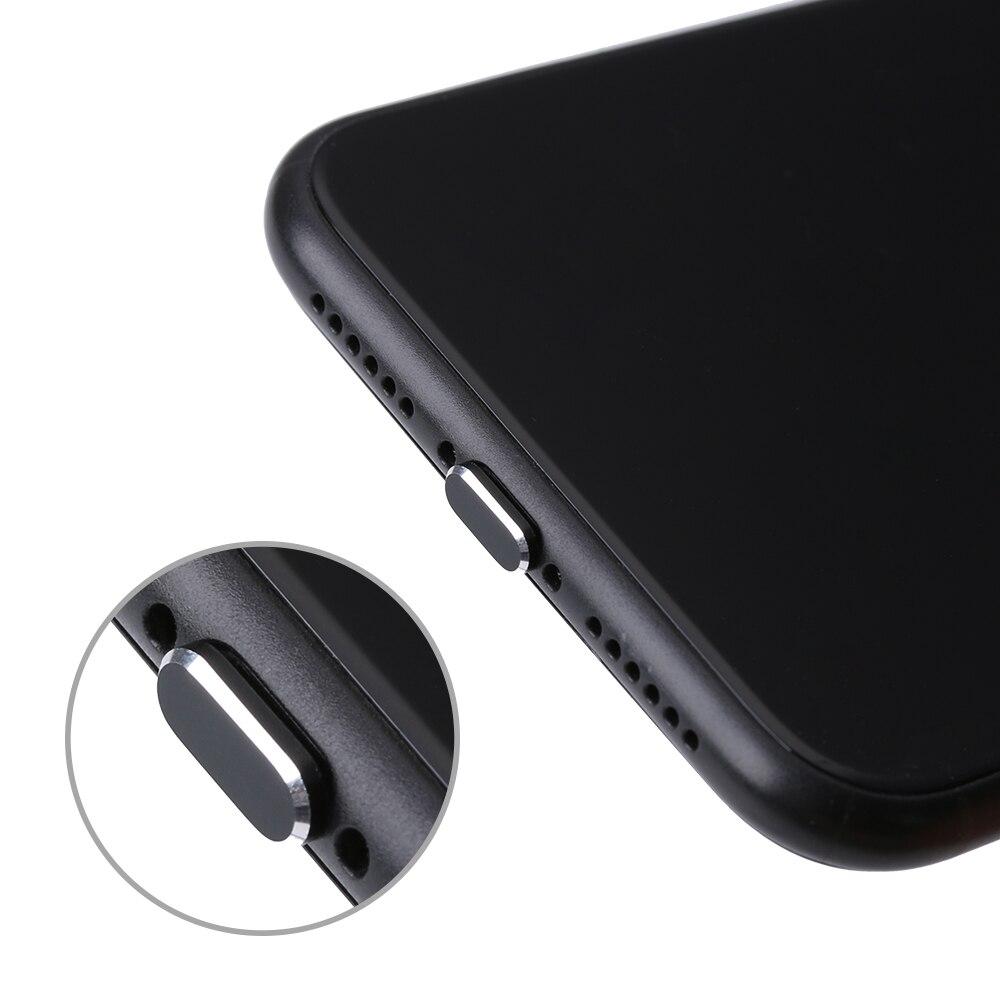 11 видов цветов 1 шт. цветная металлическая противопылевая заглушка зарядного устройства для IPhone 11 12 Pro MAX X XR Max 8 7 6S Plus-2
